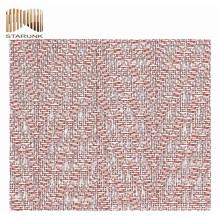 tissu maille métallique imprimée imperméable à l'eau haut de gamme
