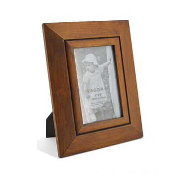 Natural Wooden Pohto Frame for Hom Decoration