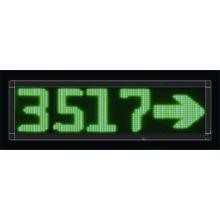 P10 Único Verde Quatro Dígitos LED Message Screen
