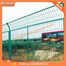 SHUNYUAN ПВХ покрытием проволочной сетки забор