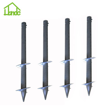 Honde Helical Ground Screw Piles