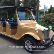 8 seater white electric vintage car/ classic car for sale