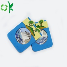 3D Blue Adhesive Mobile Cell Phone Card Holder