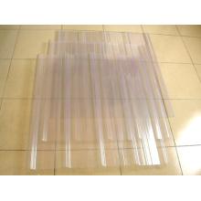 Hochwertige transparente Dachziegel für Metall Dachziegel Projekt