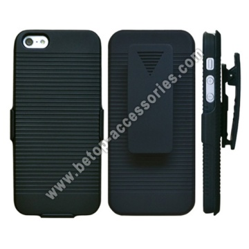 iPhone 5 Case Cover Slim Rubberize Protector Holster mit Ki