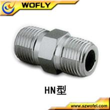 Racor de acero inoxidable de alta presión NPT 1/2