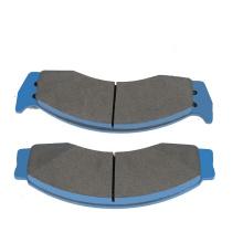 High quality front car brake disc pad automobile semi metallic brake pad for Ford truck E-450 Super Duty 2005-2007