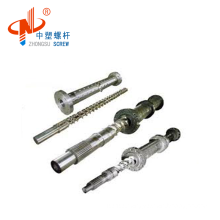 no minimum single extuder screw and barrel for PE pipe
