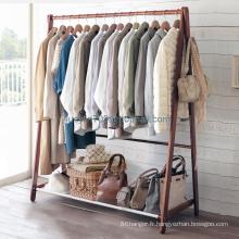 Chambre à coucher en bois massif Portemanteau, porte-manteau