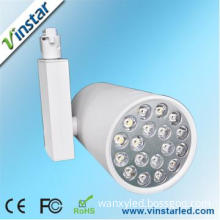 18W Track Lighting with Single/double Arm Design