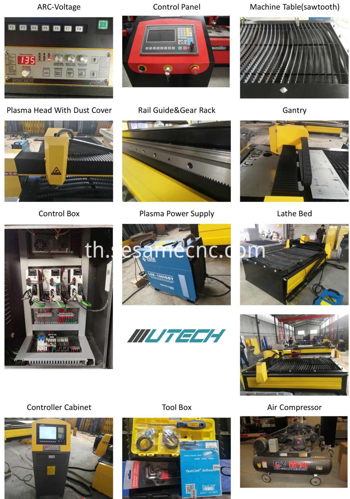 cnc cutting machine for metal