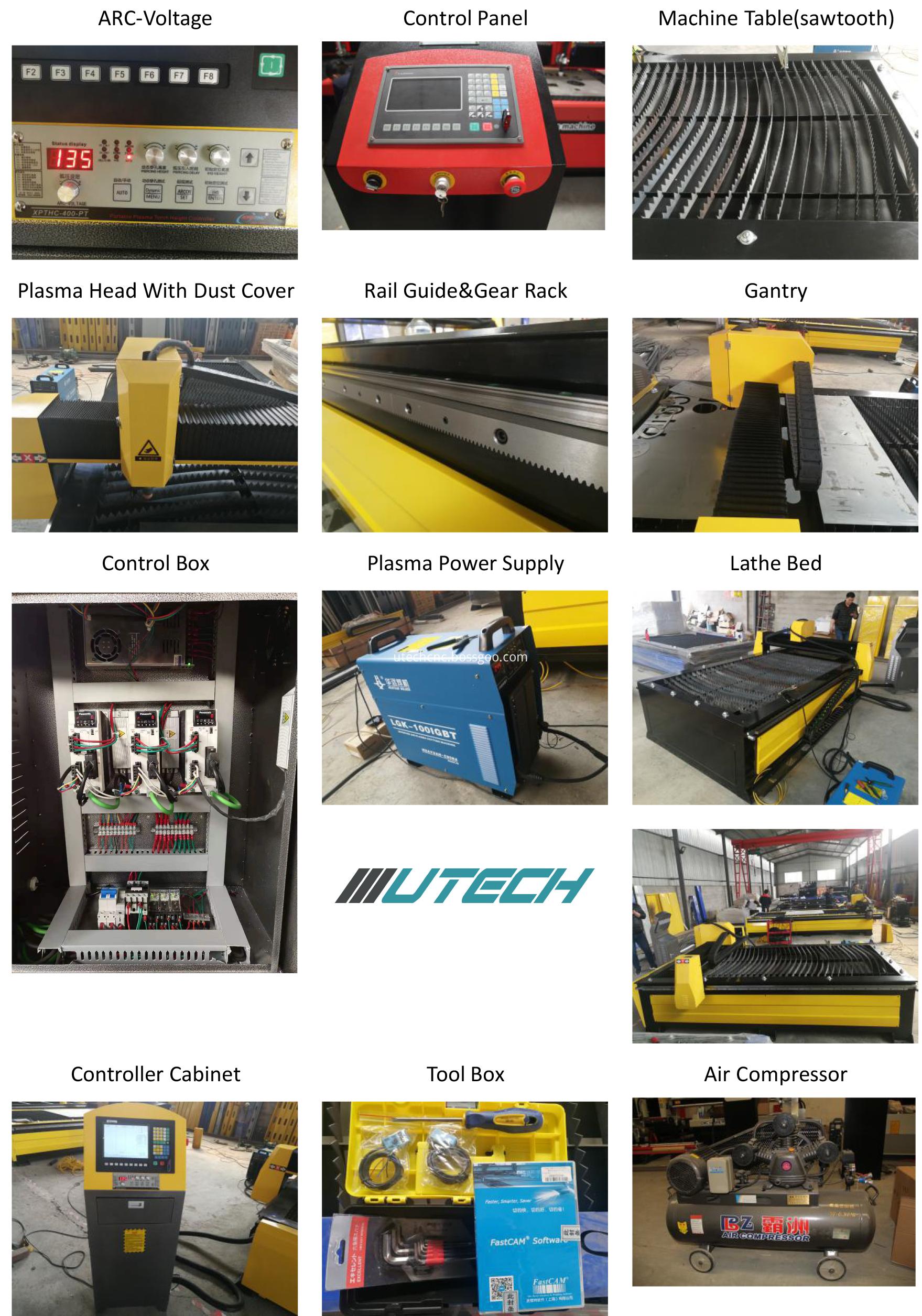 cnc cutting machine for metal