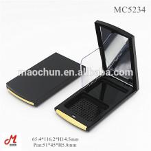 MC5234 Atacado plástico vazio maquiagem compacto em pó embalagem de cosméticos