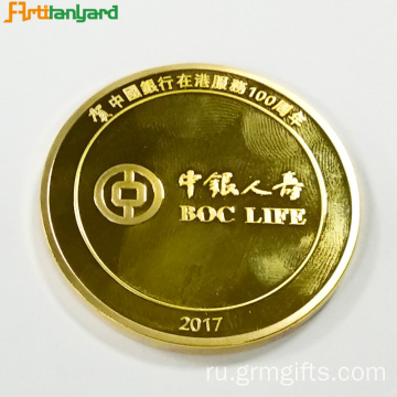 Custom Metal Proof Coin With Embossed Logo