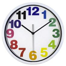 9 Inch New design silence clocks retail style wall clock