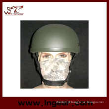 Tactical 2001 vidro fibra capacete combate capacete Mich para venda