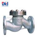 Pn16 avaliado da pressão Pn16 baixo bola de aço inoxidável do ar 2 1 elevador da válvula de verificação de 4 ...