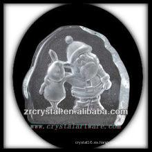 Intaglio de cristal K9 del molde S072