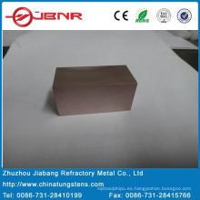 W70cu30 placa de Wolfram con ISO9001 de Zhuzhou Jiabang