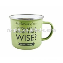 green enamel coating mugs and cups & enamelware wholesale