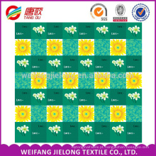 100 Polyester fabric pigment disperse bedsheet microfiber