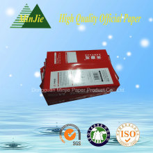 100% Polpa de Madeira Branco A4 Papel de Cópia 80 GSM