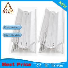 Panel de aluminio flexible convector calentador