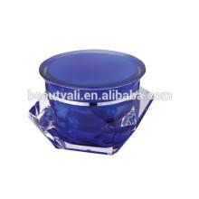 3ml 5ml 10ml 15ml 30ml 50ml Frasco de acrílico de diamante Jar PMMA