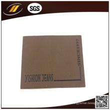 Etiqueta de couro simples para calças Malha de calças (HJL48)