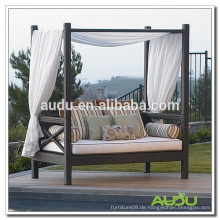 Audu Bed Rattan Outdoor Patio Garten Liege