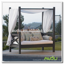 Audu Bed Rattan Outdoor Patio Garden Lounger