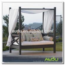 Audu Cama Rattan Outdoor Patio Garden Lounger