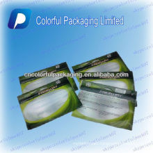 Fishing lure Zipper lock Packaging/bag with clear window/transparent bag