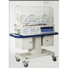 Incubadora infantil con unidad de fototerapia LED
