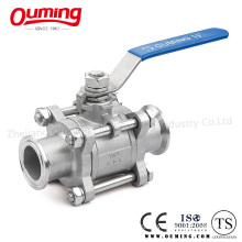 Stainless Steel Ball Valve with Clamped (OEM)