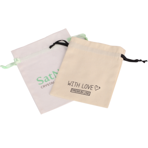 2017 small cheap cotton drawstring bags