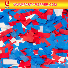 2016 Red White Blue Slip Biodegradable Confetti Cannons