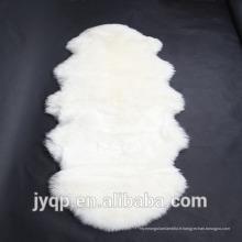 Tapis de peau de mouton de fourrure d'agneau australien de fantaisie