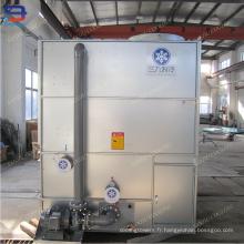 Refroidisseur évaporatif pour tour de refroidissement d'eau de circuit fermé de fours industriels