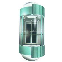Ascenseur en verre d'observation avec beau design