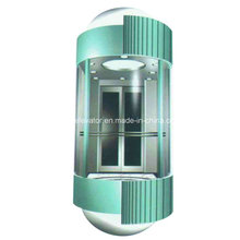 Стеклянный лифт с красивым дизайном