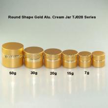 Gold Alu. Tarro de cuidado de la piel