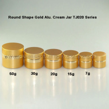 Gold Alu. Skincare Jar