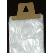 Klare Plastiktüten zum Verpacken von Zeitungen