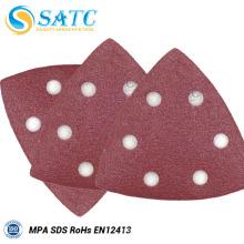 Utilisation de polissage de disque de ponçage d'abrasif de matériel et d'aluminium de film et d'oxyde