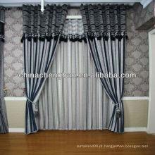Tecido jacquard chenille sofá cortina