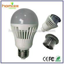 2014 new product led bulb lights plastic cover B22 E27 base