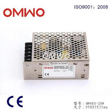 Nes-25-15 AC DC Modo de conmutación Fuente de alimentación