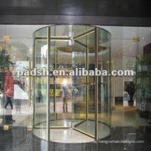 crystal revolving door