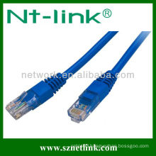 High performance 4 Pairs 24Awg Cat5e UTP Patch Cord